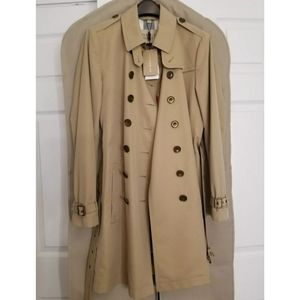 NWT BURBERRY BRIT CHROMBROOK TRENCH COAT SIZE 14